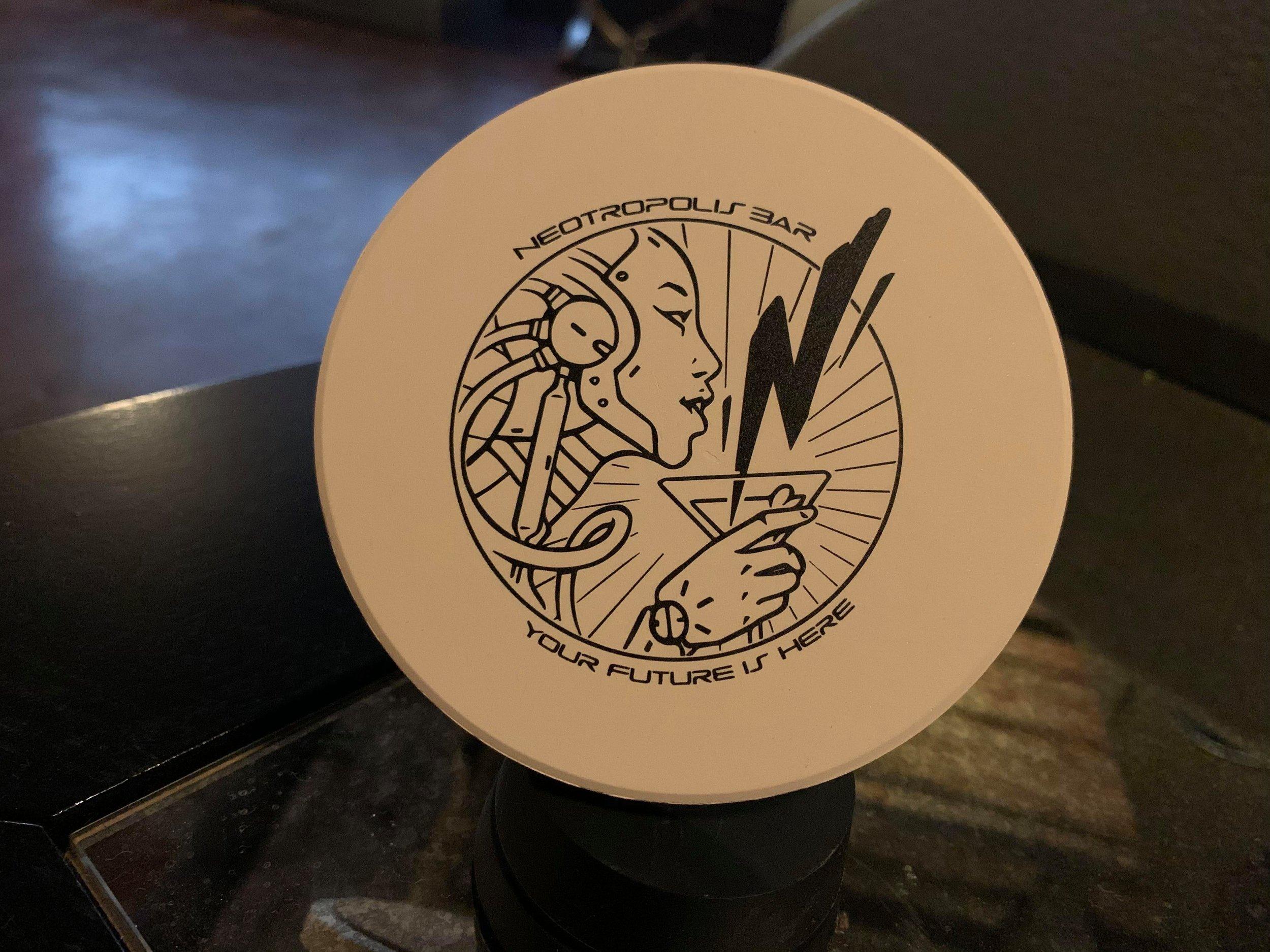 Ceramic coaster - $10