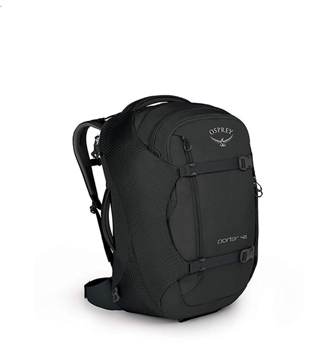 Osprey Porter Backpack - This is the backpack I've used for my travels. I love it. Price/Buy