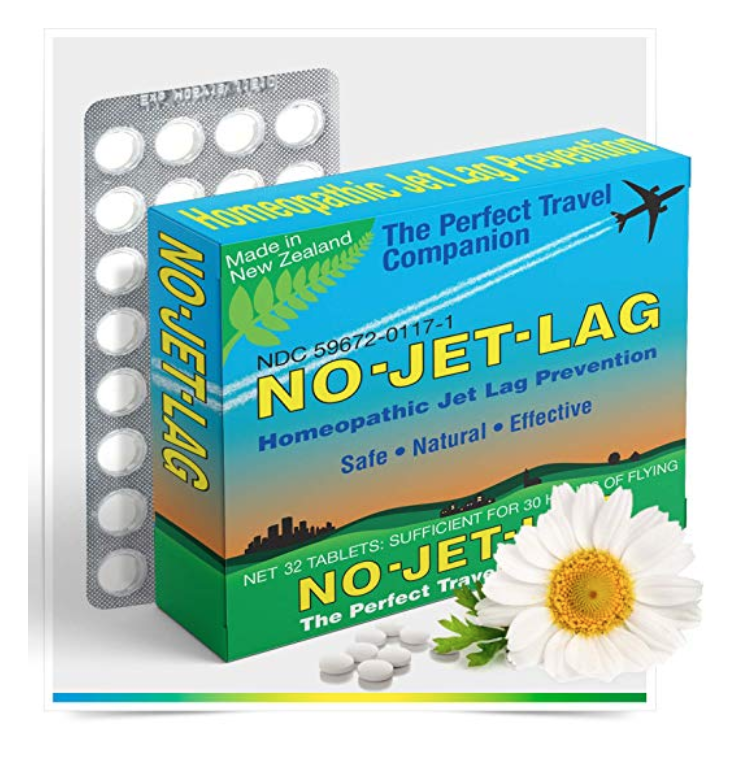 No Jet Lag - This stuff is seriously great! Never go on a long flight without it handy.Price/Buy