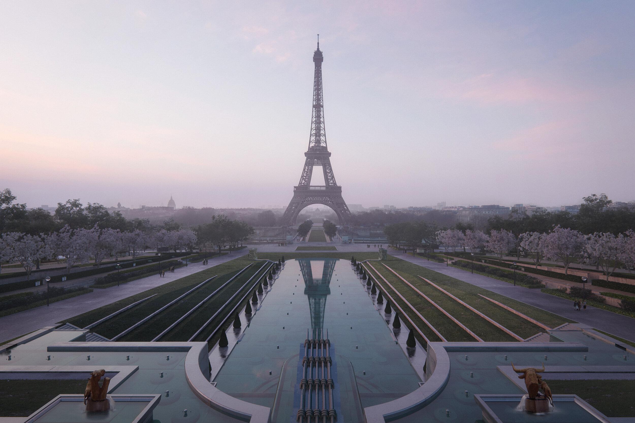 © MIR for GP+B - Site Tour Eiffel - Crystal