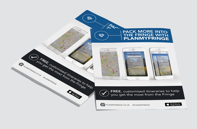 Flyer Design for Plan My Fringe