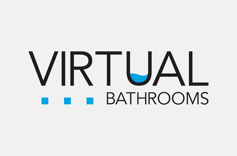 Virtual Bathrooms Logo & Branding -