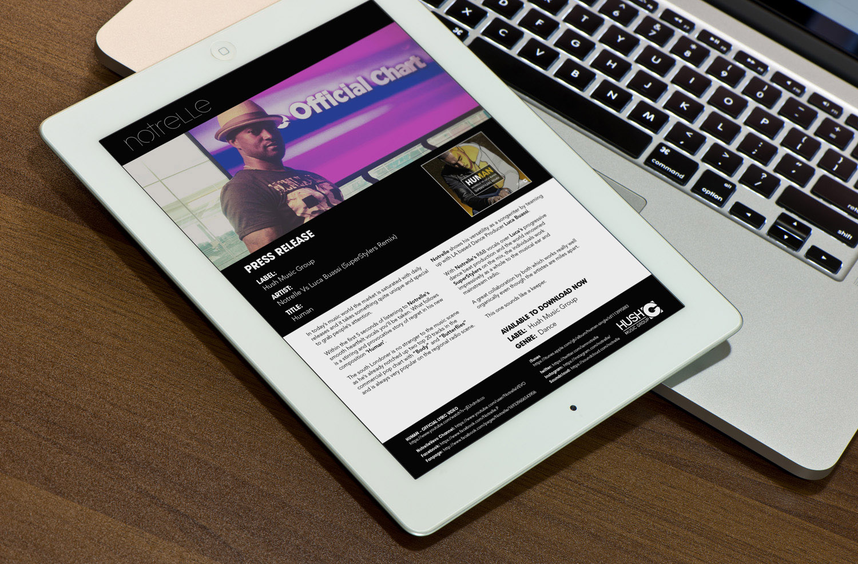 Music Promo Image & Press Release -