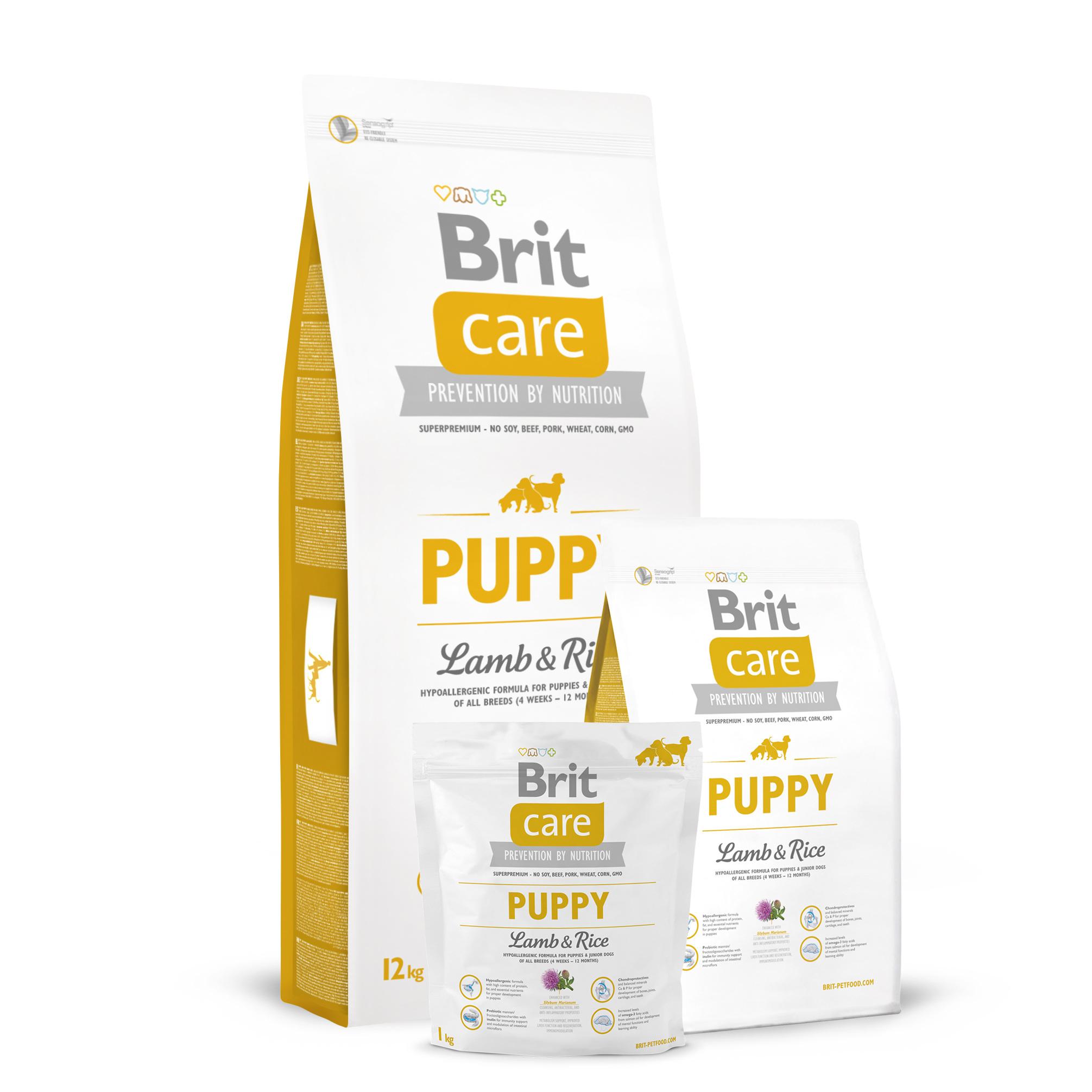 Brit_care_puppy_Lamb_Rice_køb_danmark