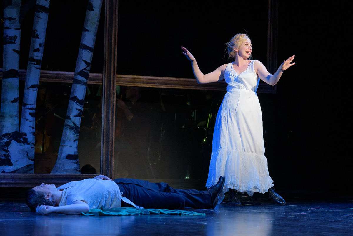 """A Little Night Music with Madison Opera - Emily Glick, playing the free-spirited maid Petra, has an ease on the stage and a sense of playfulness that draws the eye. """"Miller's Son,"""" Glick's showcase, blends sensuality and lightning-quick diction. It's a tour de force for her. - The Cap Times"""
