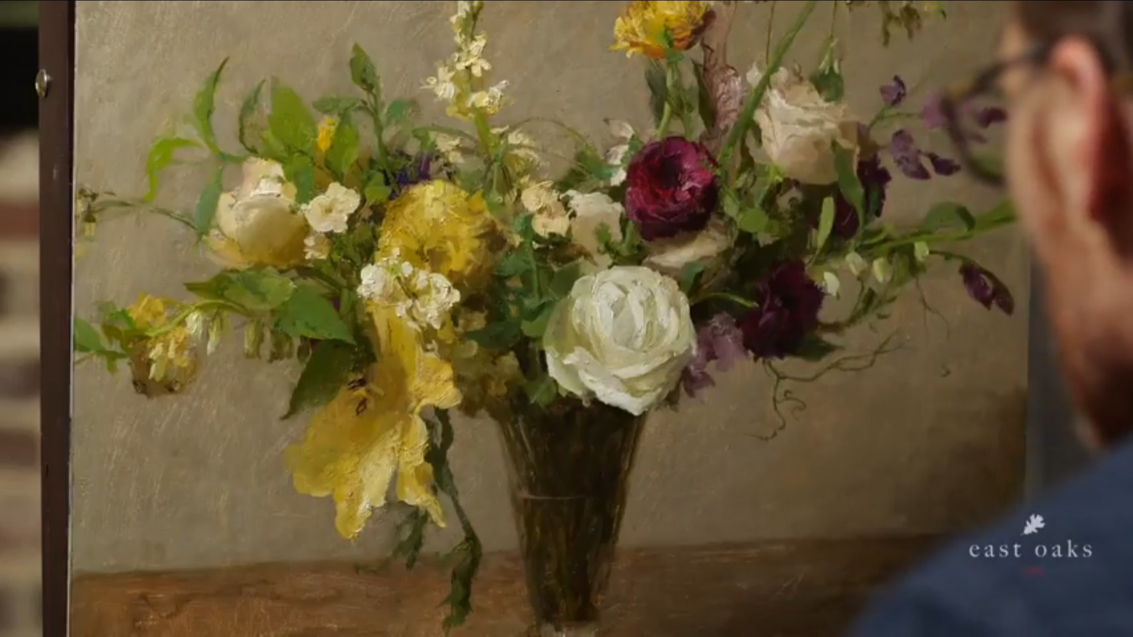 Livestream Floral Painting Workshop $249 (9 hours in duration)