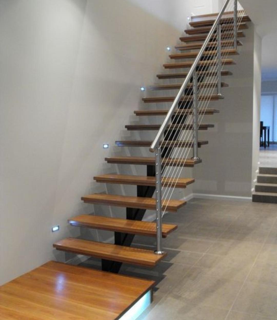 Escaleras y Pasamanos -