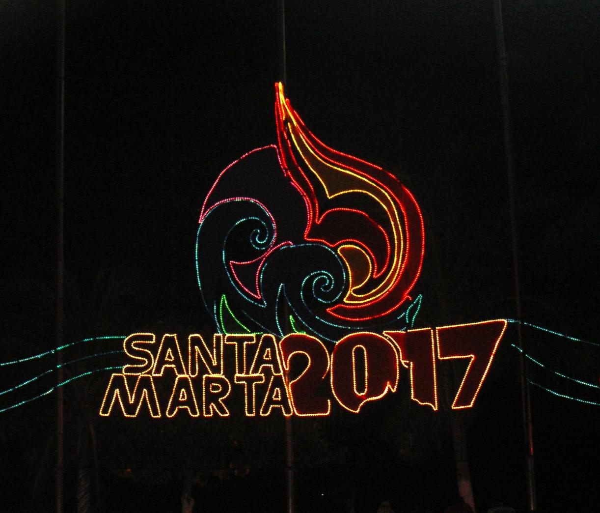 Estructuras para Alumbrados Santa Marta Colombia -
