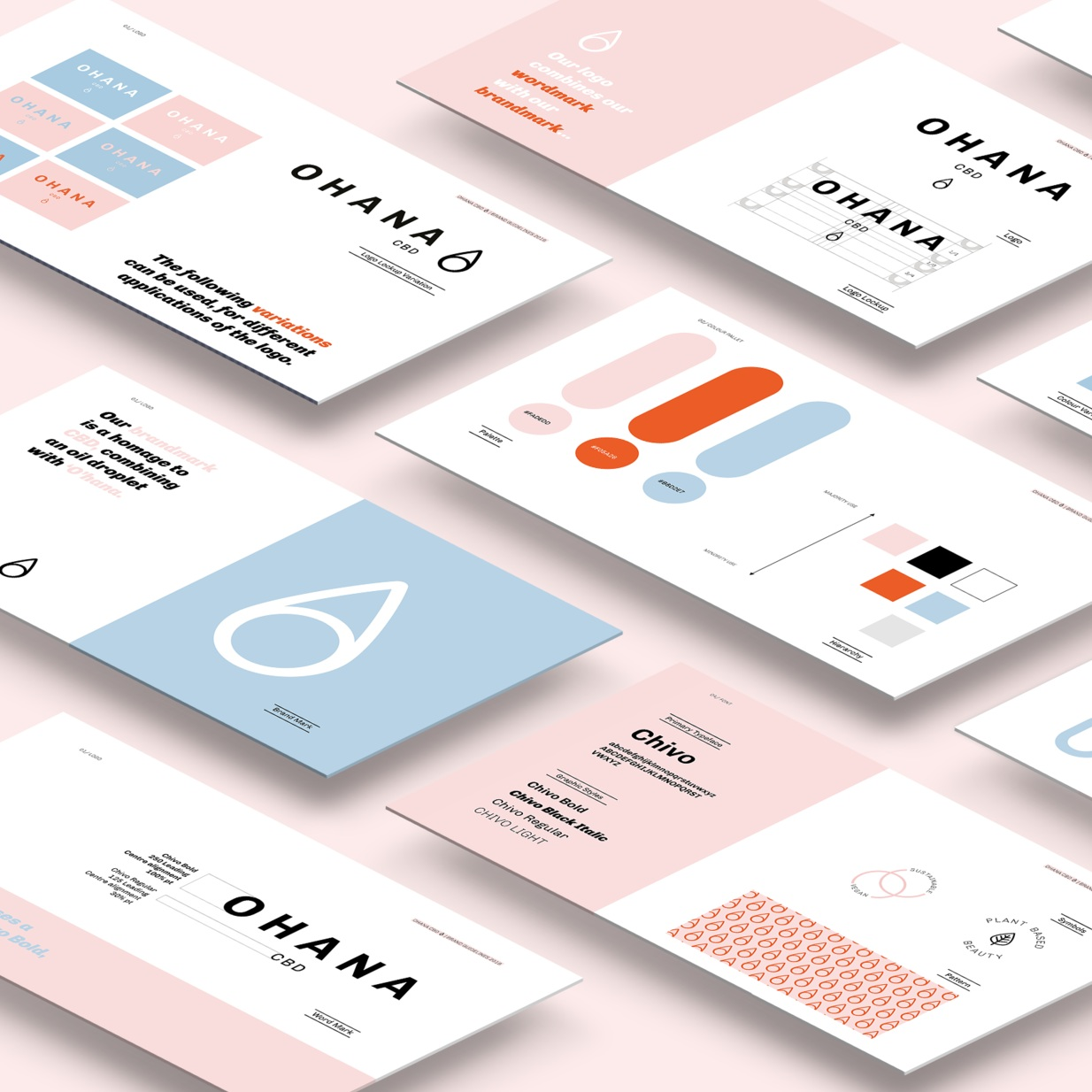 Coming soon… - After the submission for my Graphic Communication Module, I continued to work with Ohana to develop their final visual identity and deliver a brand guidelines book. The new brand will be launching soon!