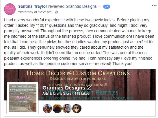 Santina Traylor Review.PNG