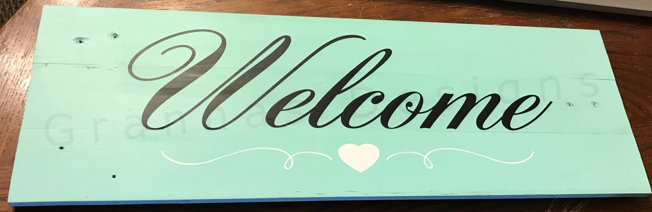 "24"" x 8"" Porch Sign    $30"