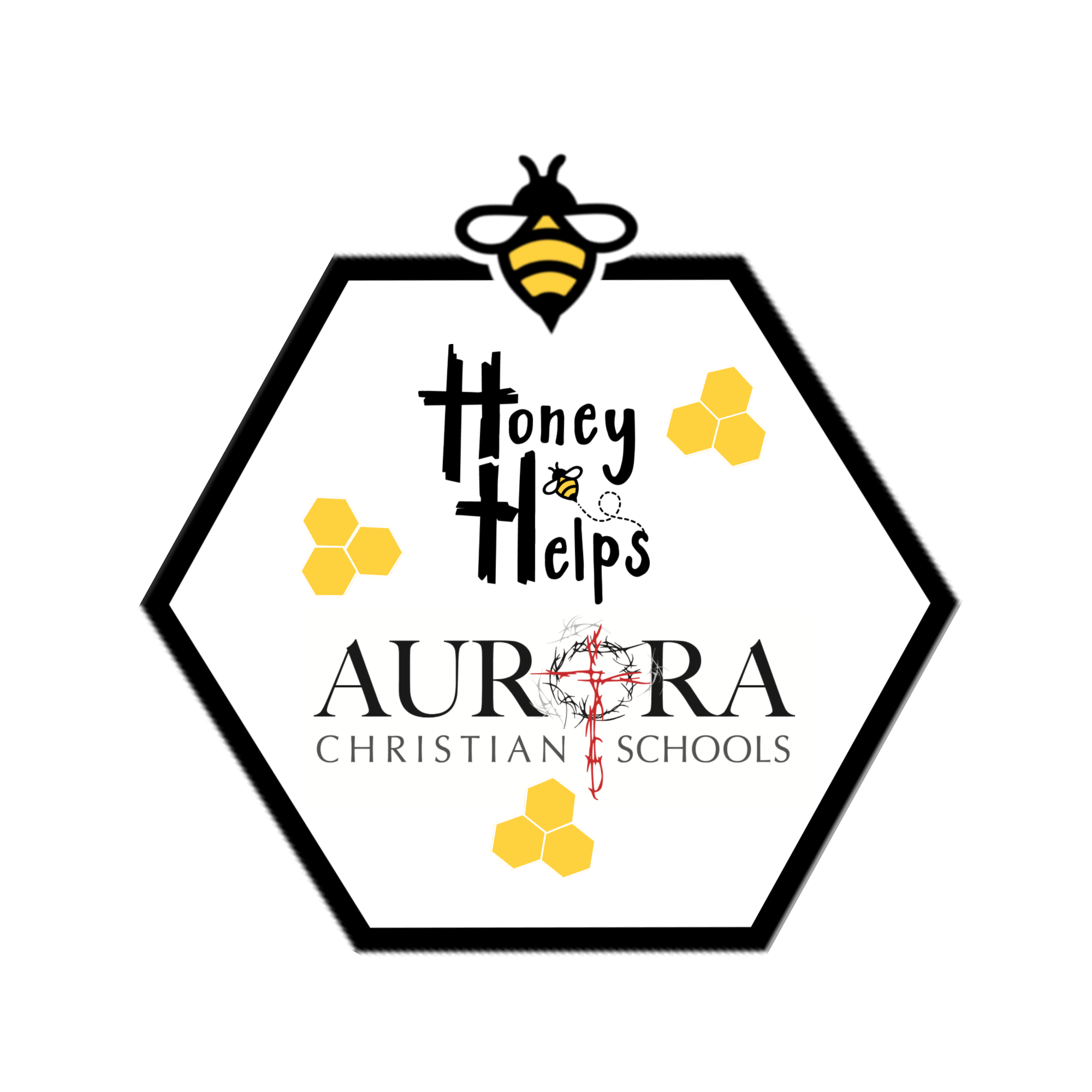 Honey Helps ACS with bee yellow hex2.png