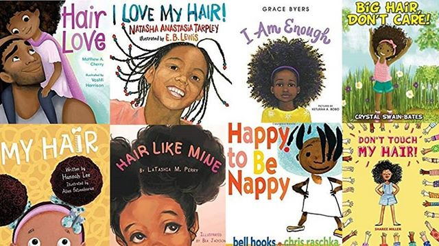 At comfygirlwithcurls.com you can find a list of 30 books that help to encourage and destigmatize young people wearing their natural hair. Thank you @comfygirlcurls for sharing all these important books! . . . #FreeTheHair #BedtimeStories