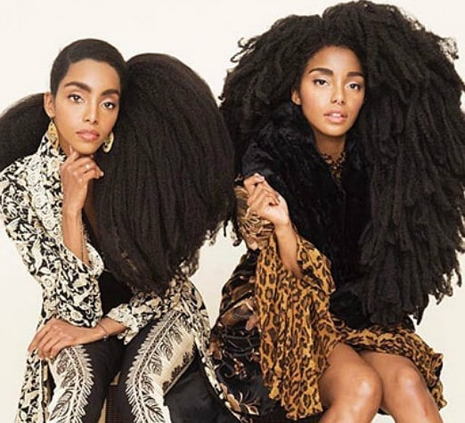 """@iambeautiful365 shared @urbanbushbabes Cipriana Quann and TK Wonder story that shows how accepting and embracing who you are can change your life! """"People stare, people ask strange questions, they make you feel uncomfortable simply because your hair is different. Then you wake up one day and recognize the true beauty and magic your hair possesses and you fall in love."""" #FreeTheHair #itsamovement"""