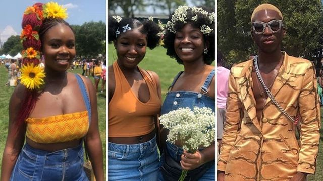 Curlfest celebrated 6 years of the beauty of natural kinks & curls at the world's largest natural hair festival. Thank you Curly Girl Collective for making this possible! #FreeTheHair #Curlfest2019 #GurlyGirlCollective Some of Curlfest 2019's best looks http://via.pix11.com/EPRfn via @pix11news