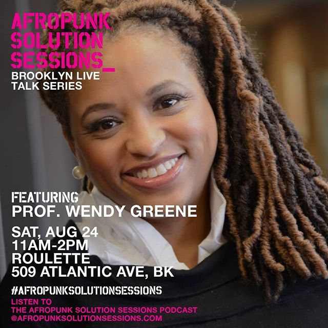 We're almost a week out from Afropunk Brooklyn! Come see Professor Greene and meet some of the #FreeTheHair Team in BROOKLYN at @afropunk as part of the #AFROPUNKSolutionSessions! -- Link to tickets in bio. #itsamovement #allhairisgoodhair #myhairmycrownNY