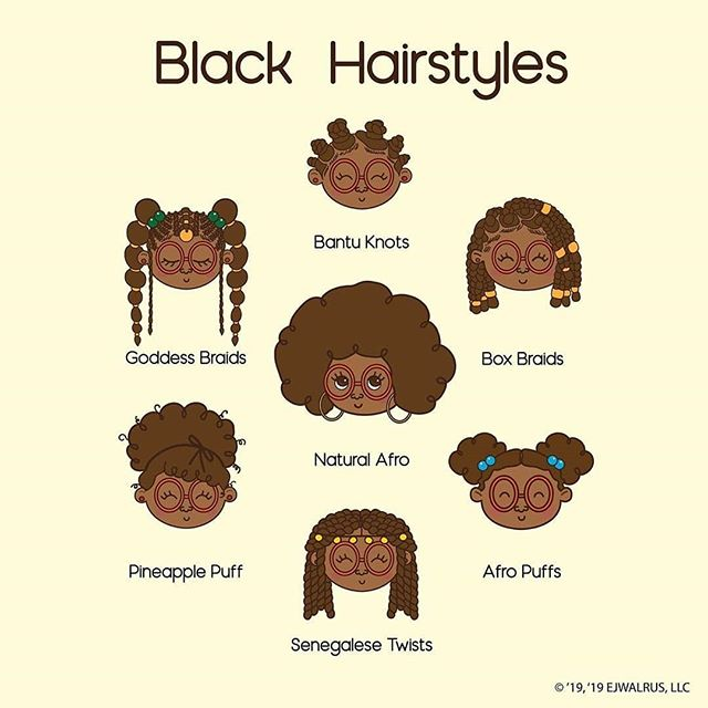 Credit to from @ejwalrus (@get_regrann) -  New print alert! 🚨It's EJ and all of her beautiful hairstyles 💁🏾♀️! Which hairstyle is your favorite? Comment below 👇🏾💕✨ © EJWALRUS, LLC 2019 All rights reserved.  __________________________  #blackgirlmagic #protectivestyles #protectivehairstyle #protectivestylesfornaturalhair #blackhair #boxbraids #senegalesetwists #bantuknots #afro #afropuff #afropuffs #goddessbraids #goddessboxbraids #braids #naturalhair #naturalista #naturalhairgoals #naturalhairspot #blackgirlsslay #cutehairstyles #blackart #dmvart #digitalart #blacknerds #vcuarts #vcualum #757art - #regrann