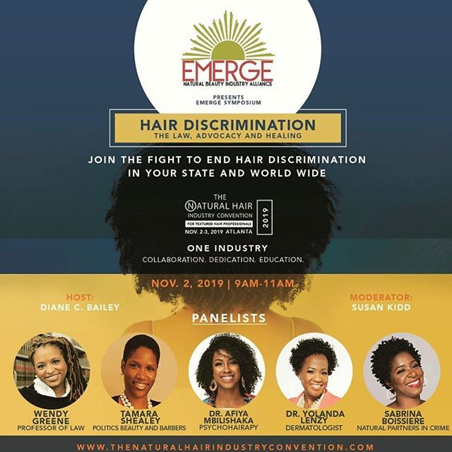 ATL-bound in just two months! Looking forward to participating in this timely and what will surely be an exceptional, inter-disciplinary conversation on: natural hair bias; resulting race-based discrimination; laws seeking to combat these global phenomena; and how we in our respective fields and stations in life can prevent and redress it. Special guests also include California lobbyists, Leah Barros and Delilah Clay, who helped to secure a successful passage of the California C.R.O.W.N. Act: the first statewide law in the country to prohibit racial discrimination on the basis of natural hairstyles in workplaces and schools. #FreeTheHair