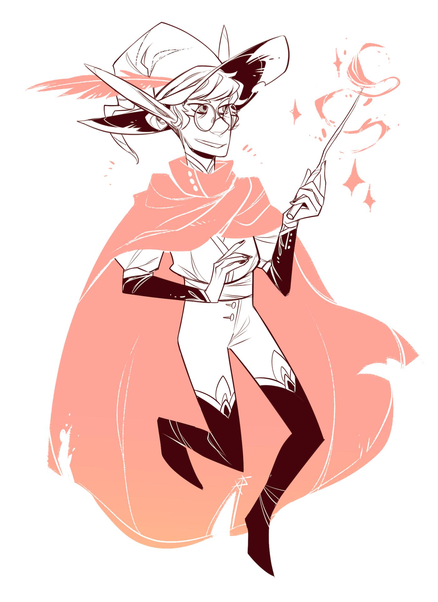 DnD - Elaris Wizard outfit.png