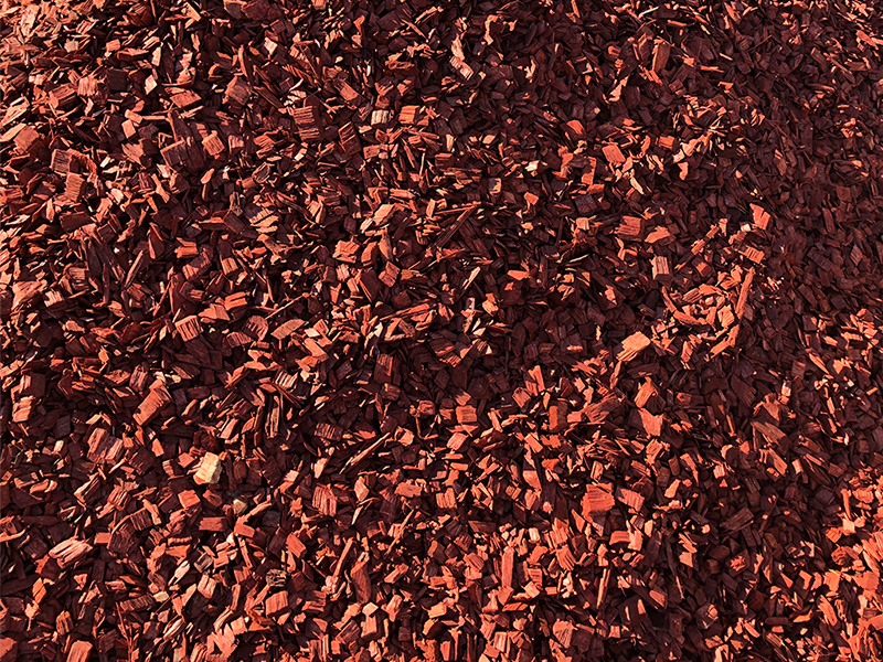 Red Gum Pine Chips
