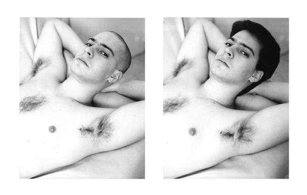 Shalev Moran, Contact Silver Print 4/5, 2007.