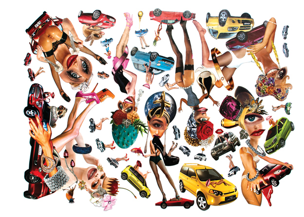 Forno Issue #8: Orgy (Collage)