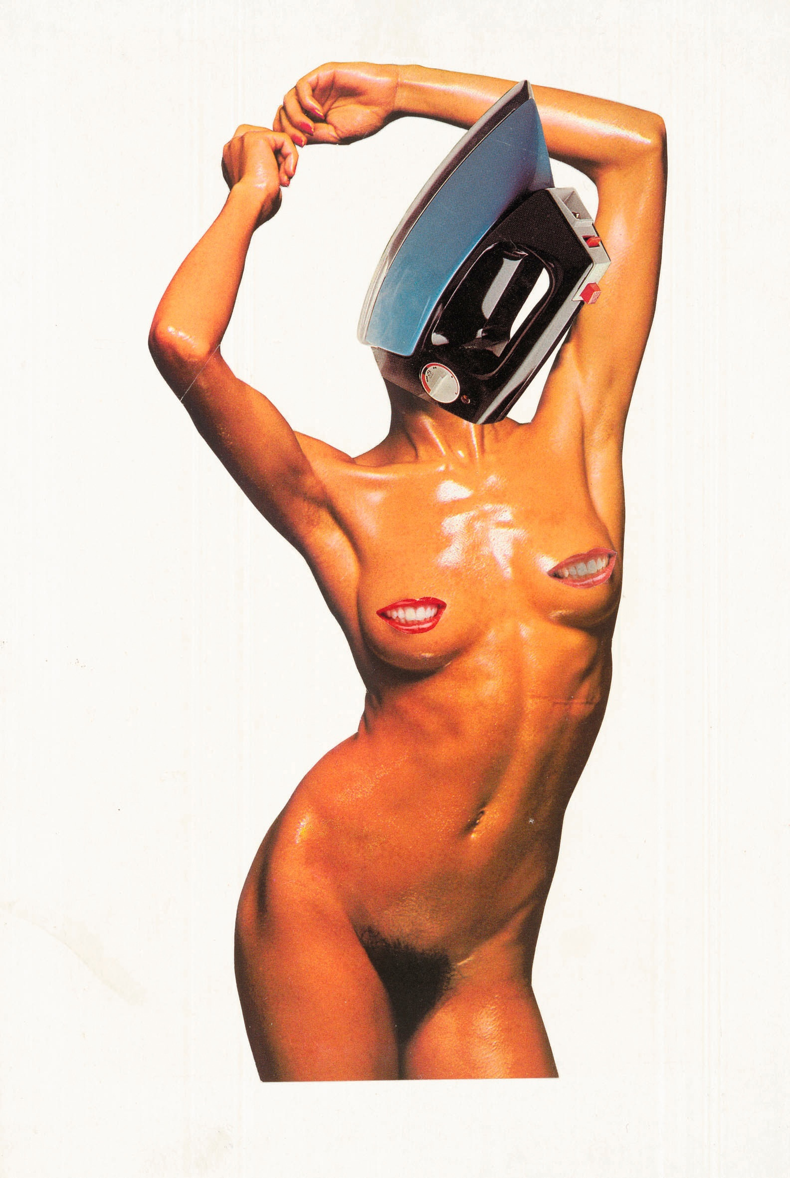 Linder Sterling,  Untitled , 1977, photomontage, 32.9 X 21.5 cm, Tate, London.