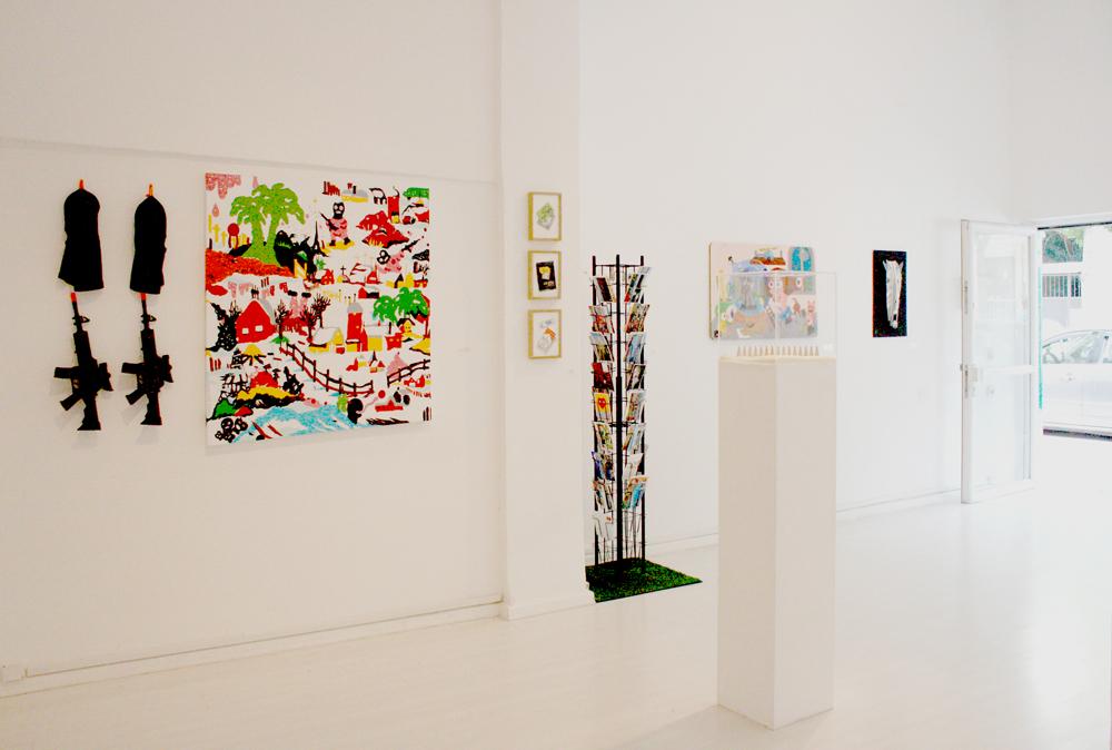 Abroad, February 2015, Binyamin Gallery, Tel-Aviv, Israel. Curator: Yanay Geva