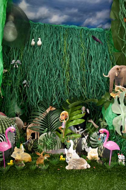 Jungle Britt, 2015, Tiny Tiny Gallery, Tel-Aviv, Israel. Curator: Yanay Geva