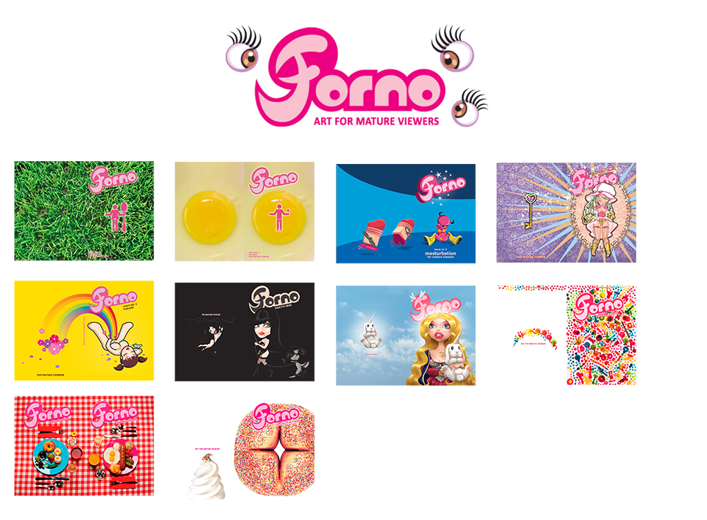 Forno Issue Covers - Various Designers