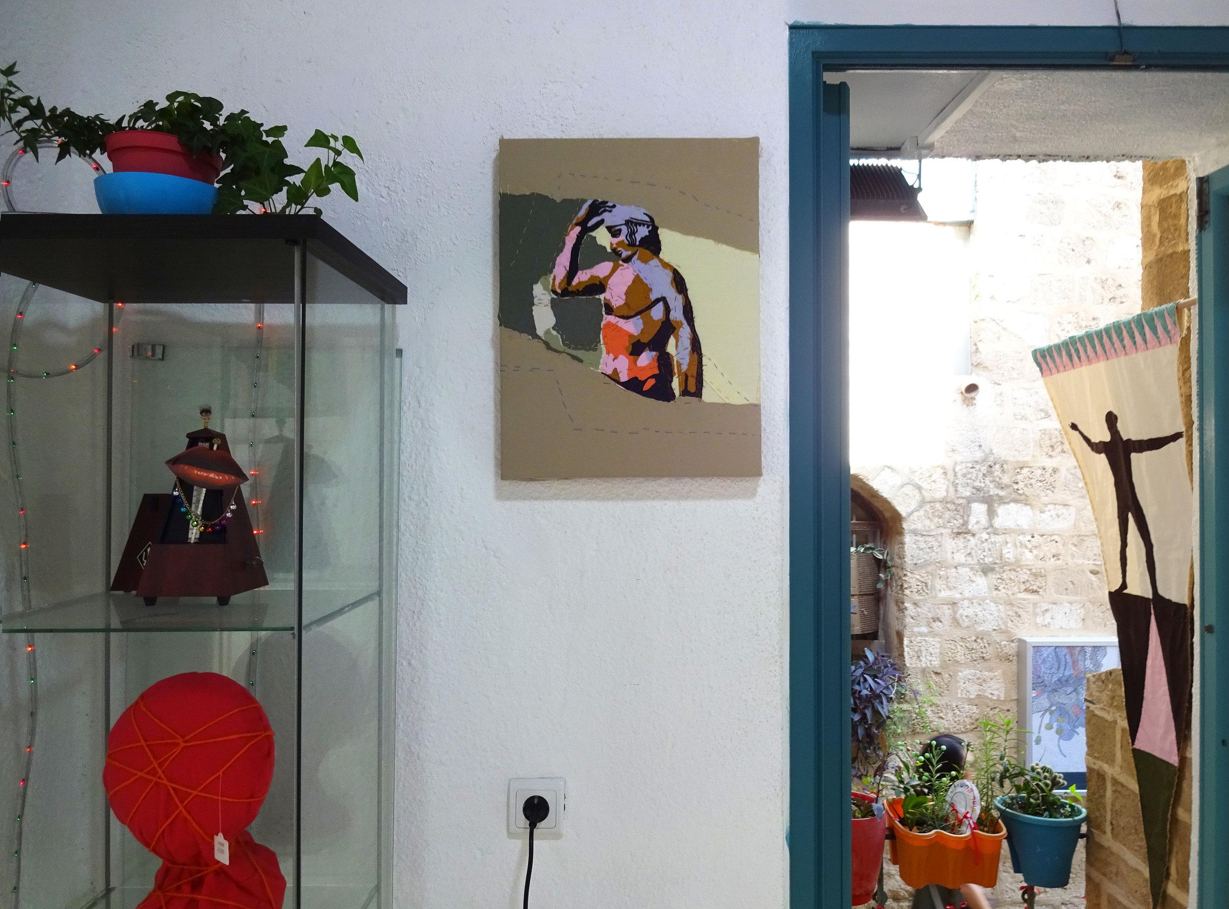 Installation view (With Aviv Keller)