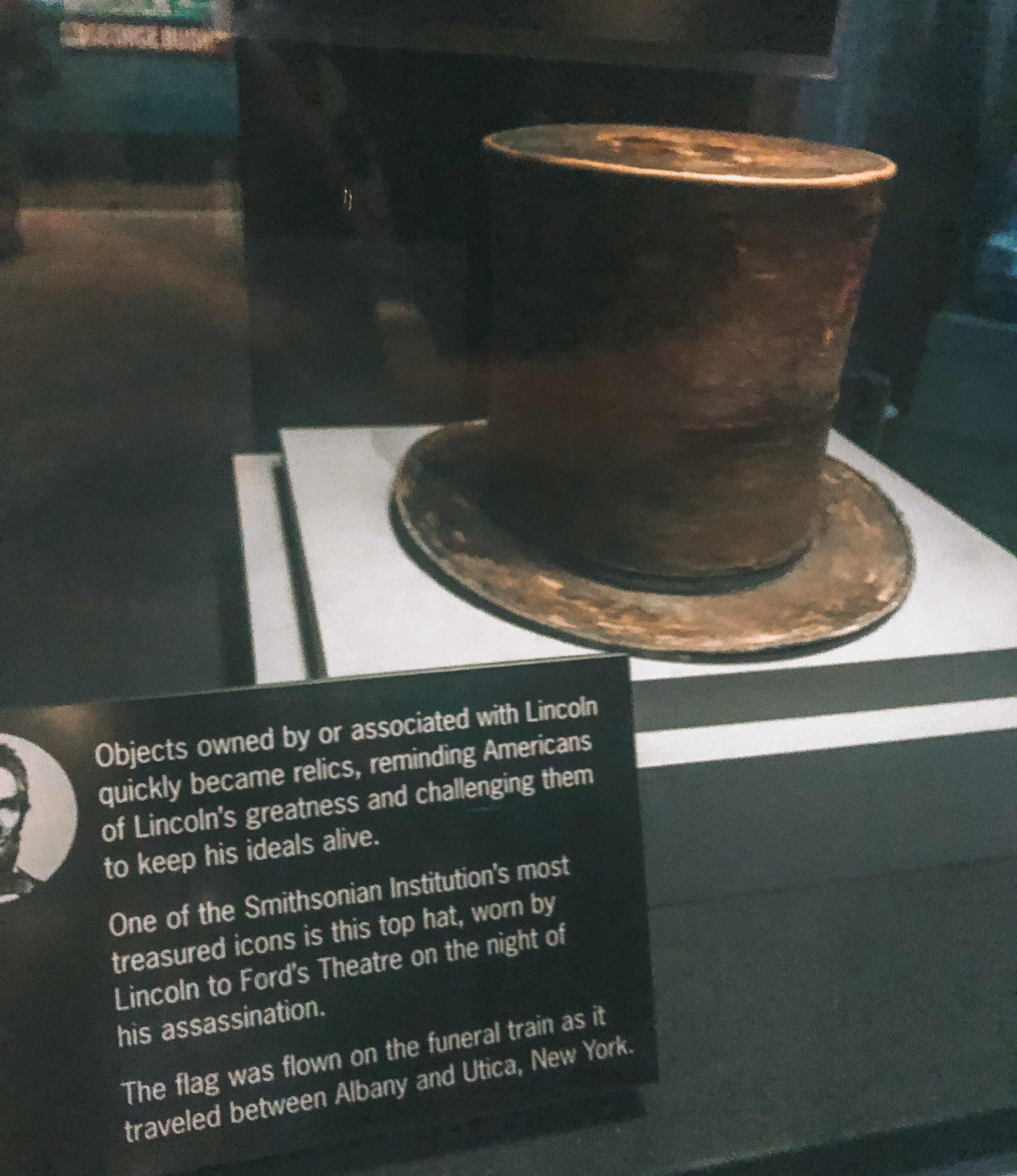 President Abraham Lincoln's famous top hat.