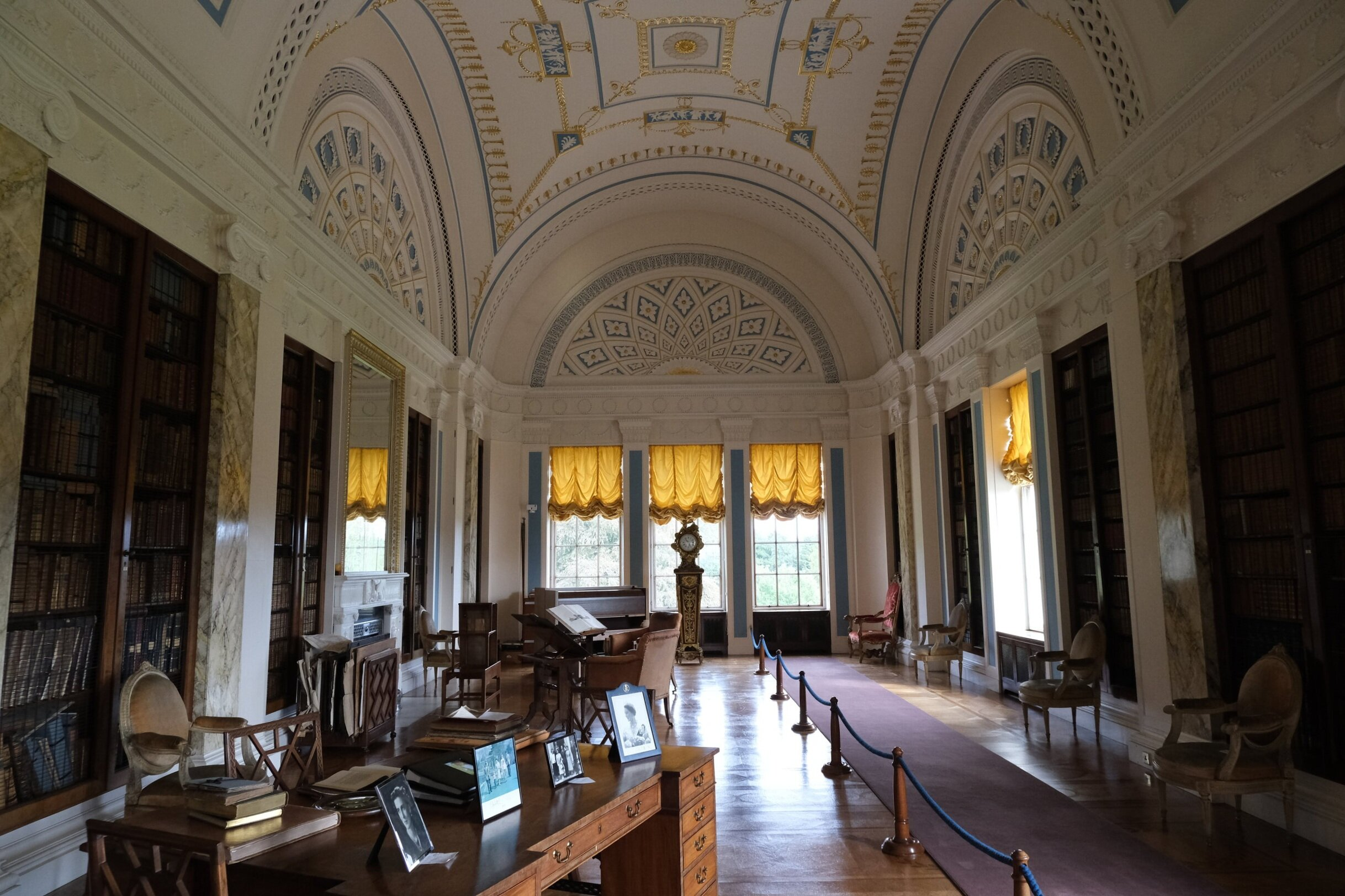 The library at Sledmere House