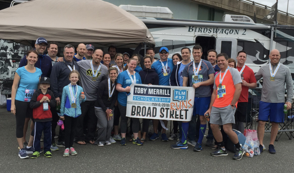 The Broad Street Run for the Toby Merrill Scholarship Reaches the Finish Line -