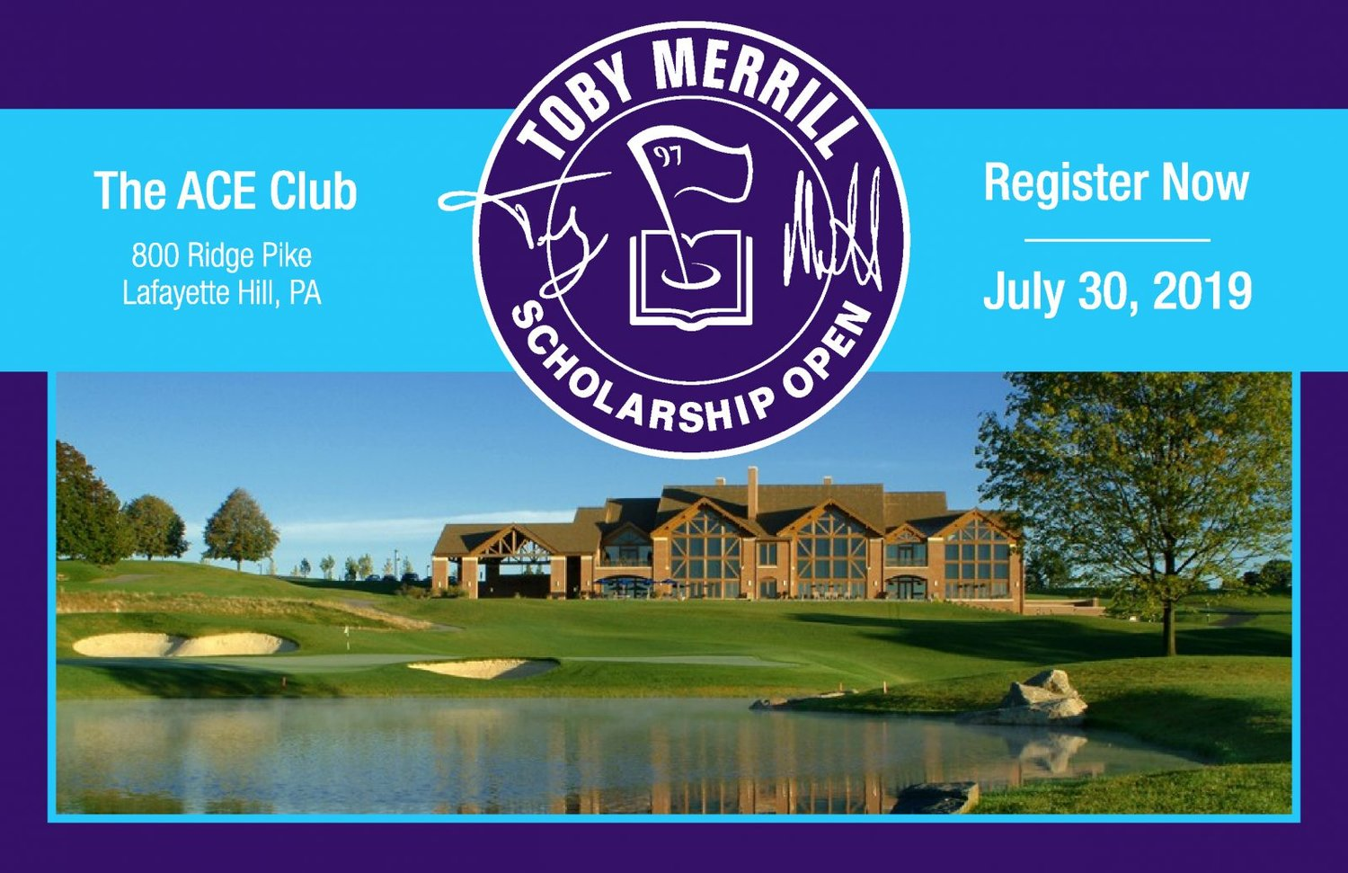Join us for the second annual Toby Merrill Scholarship Open presented by CHUBB at The ACE Club in Lafayette Hill, Pennsylvania. -