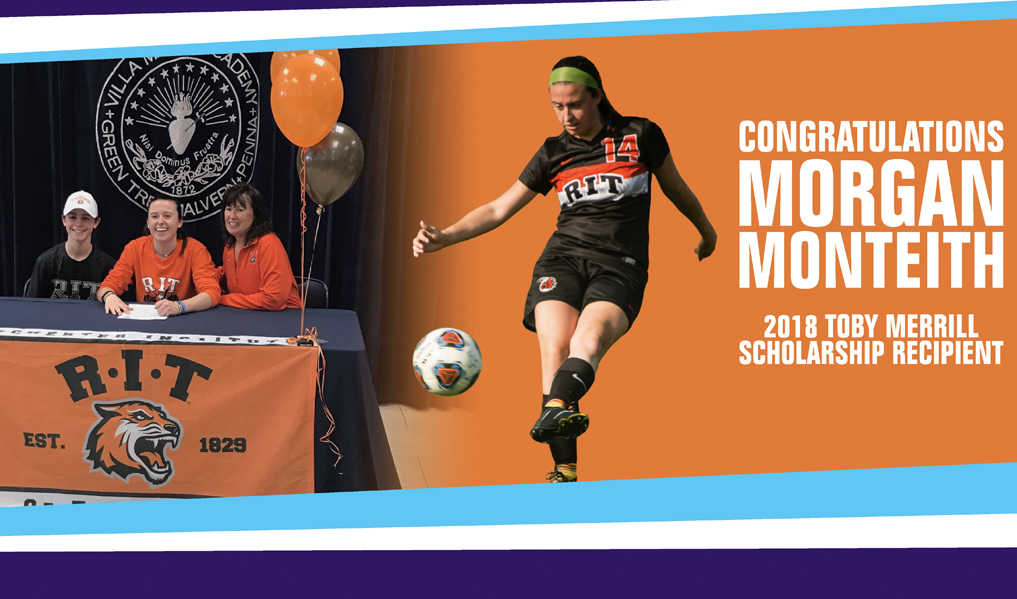 July 2018: Second Toby Merrill Scholarship Winner - Morgan Monteith -