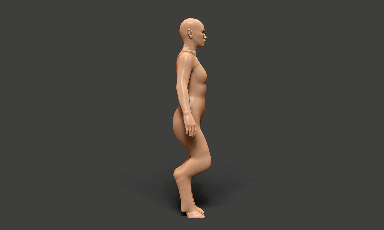 Starting Out - Don't worry, it is always going to look a little weird starting out! But you MUST get that general shape down before you start detailing.