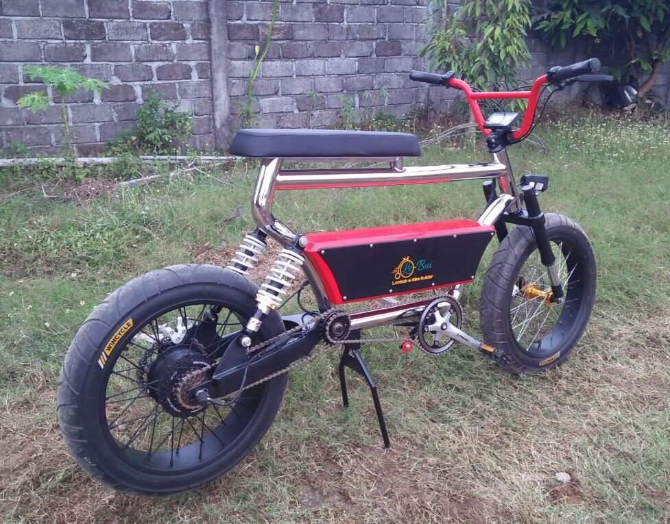Red Ryde with 500W.