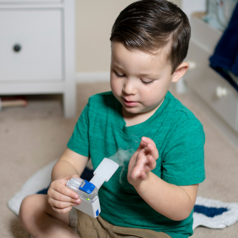 Nebulizers are drug delivery devices that are used to treat various respiratory illnesses.
