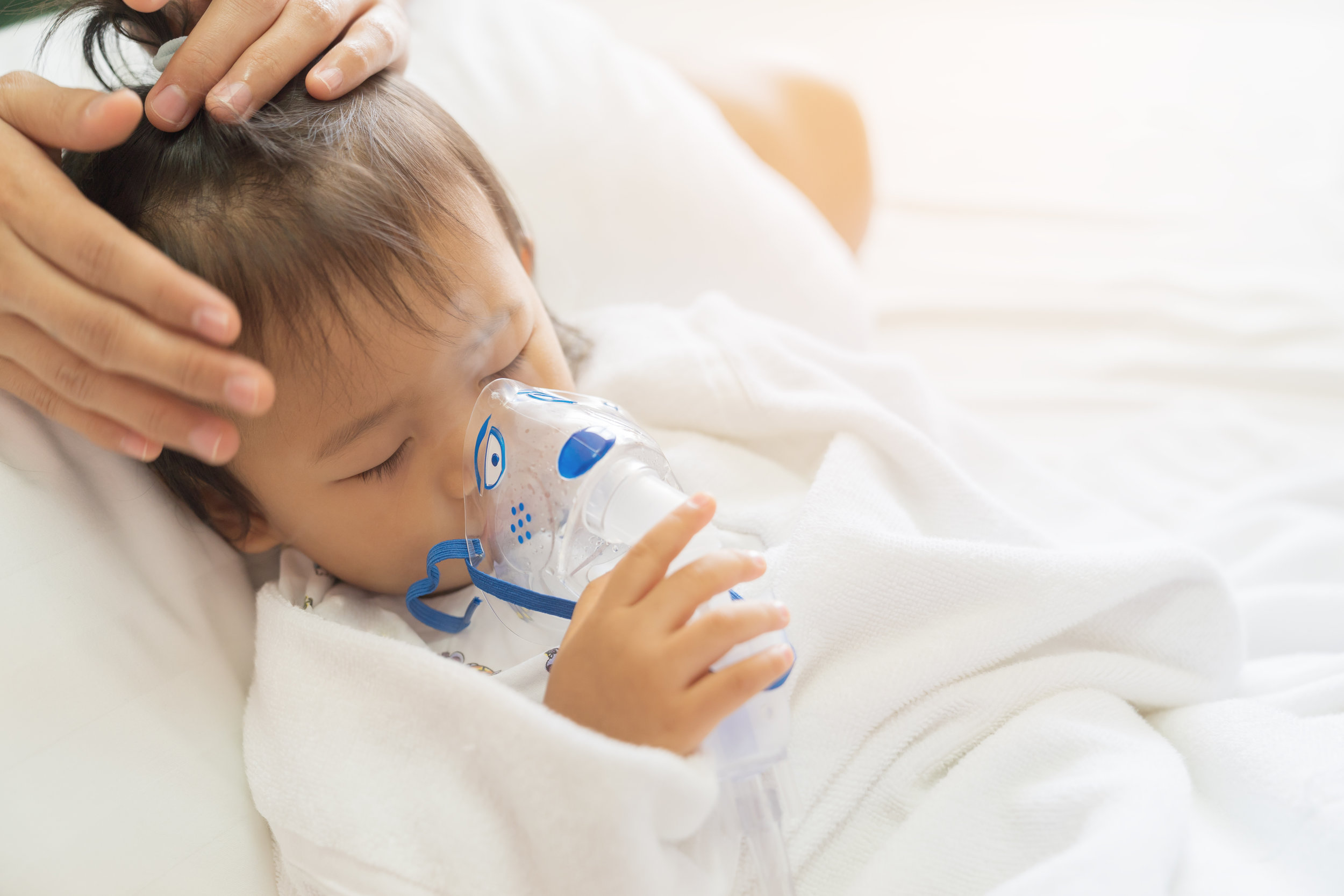 Nebulizers are an easy way for young children and the elderly to take their respiratory medication.