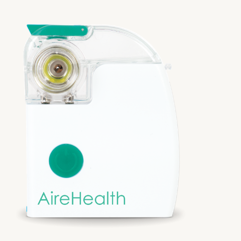 AireHealth Nebulizer Green.png