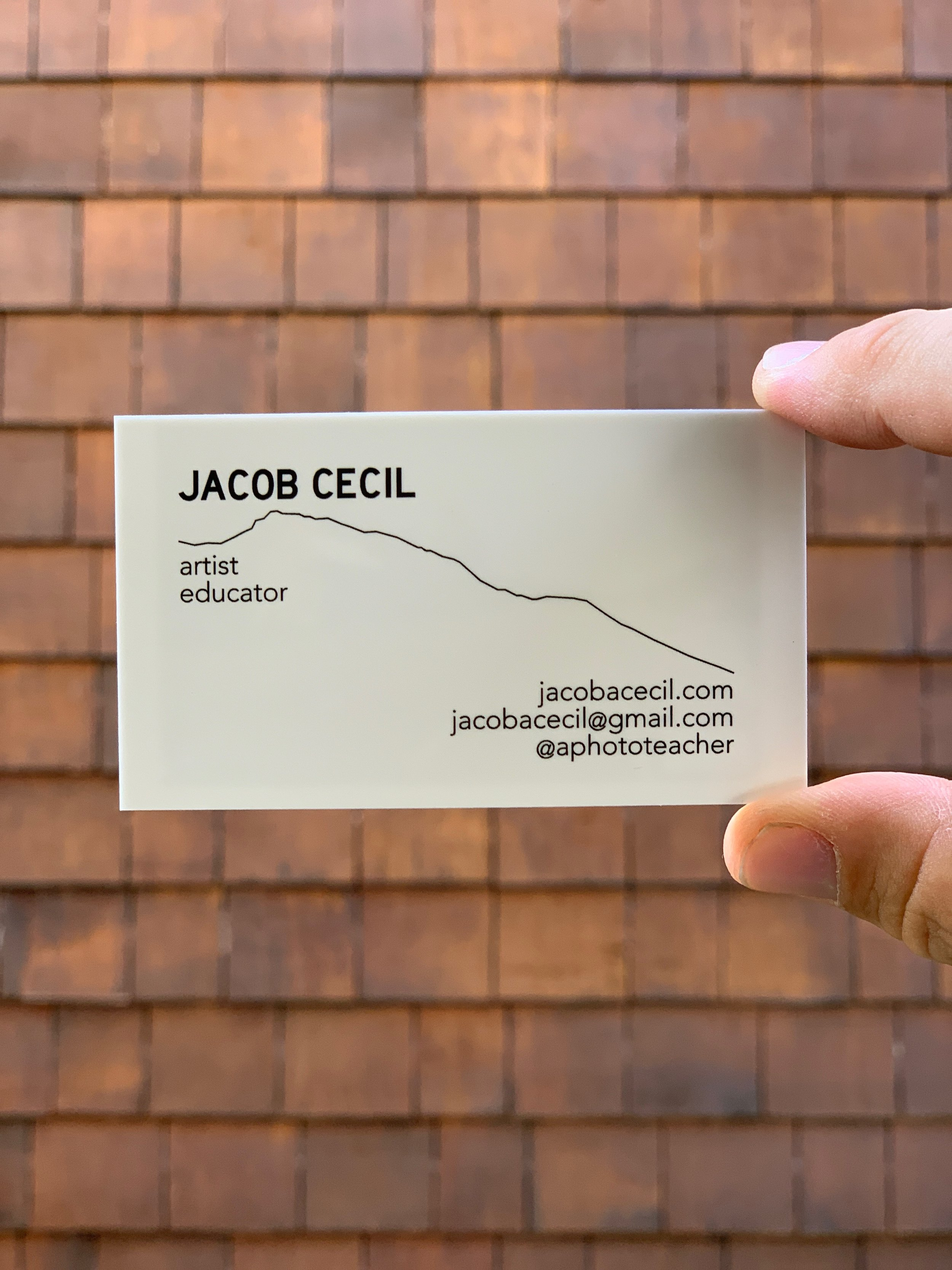 Business Card with Liberty Road