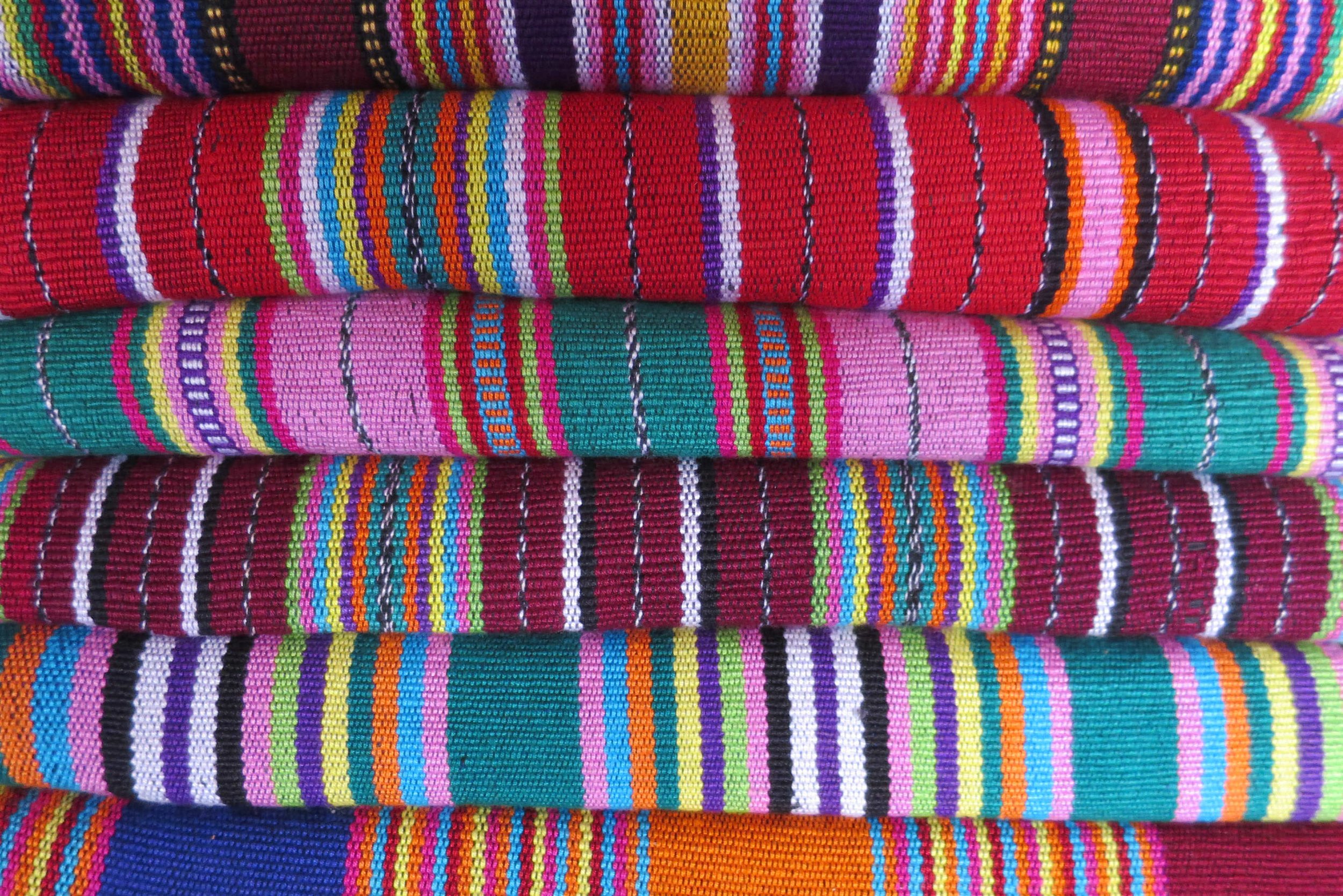 Invest in sustainably produced traditional textiles rather than holiday kitsch © Sarah Reid