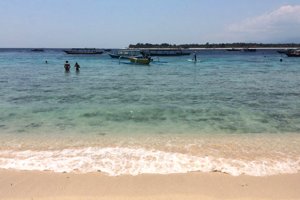 Indonesia's Gili Trawangan is a beautiful place to learn to dive © Timmy Page