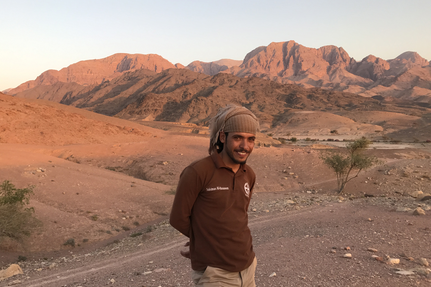 Feynan Ecolodge guide Suleiman offers a fascinating window into traditional Bedouin life © Sarah Reid