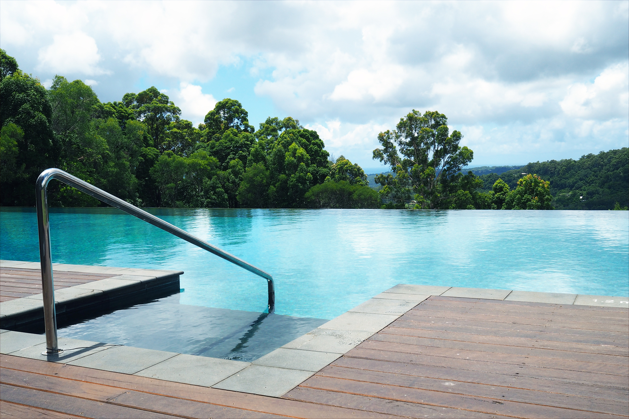 The view from Gwinganna's pool deck – one of them, at least © Sarah Reid