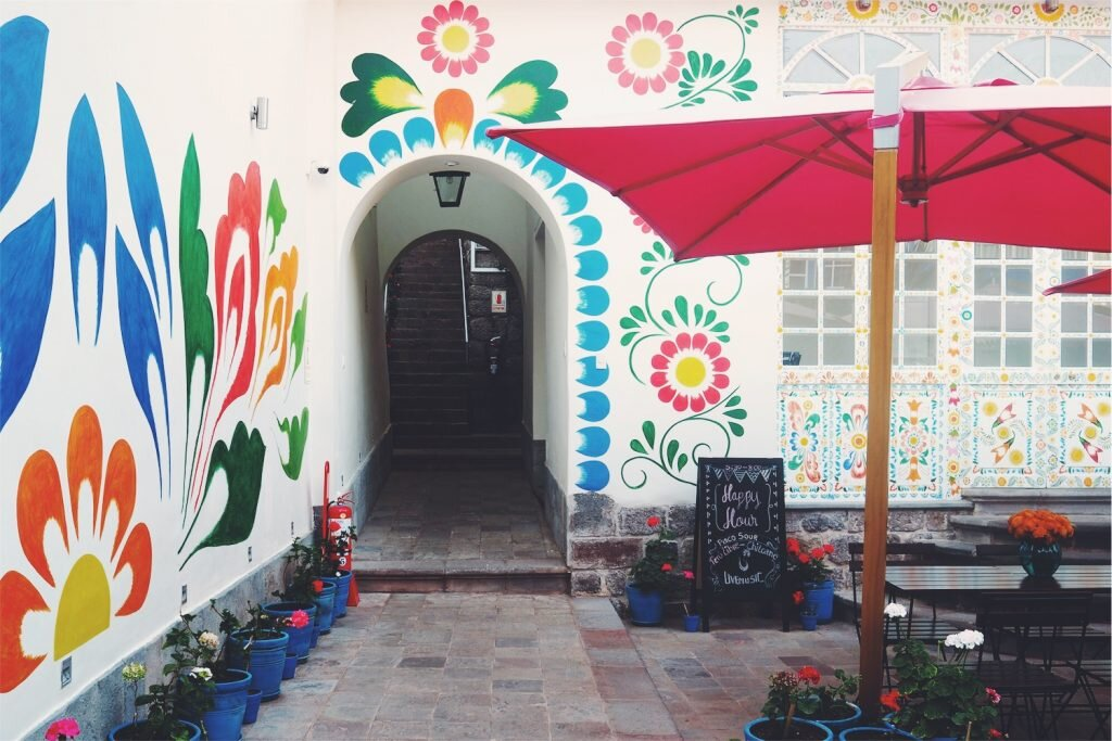 El Retablo brings new meaning to the concept of an art hotel © Sarah Reid