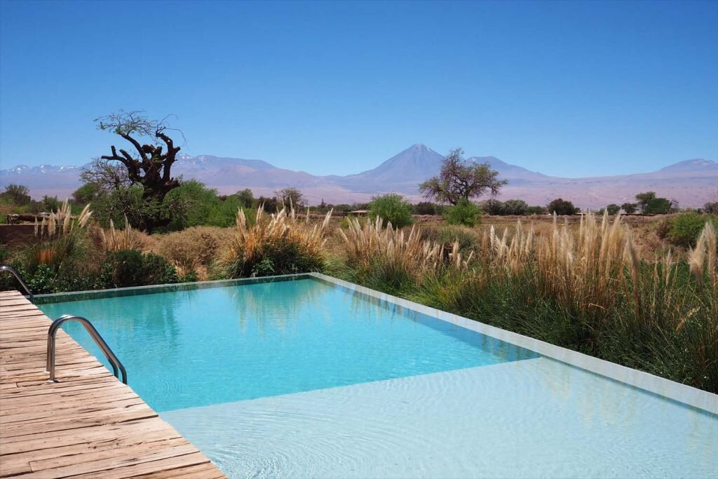There's more to Tierra Atacama than the spectacular view from the pool deck © Sarah Reid