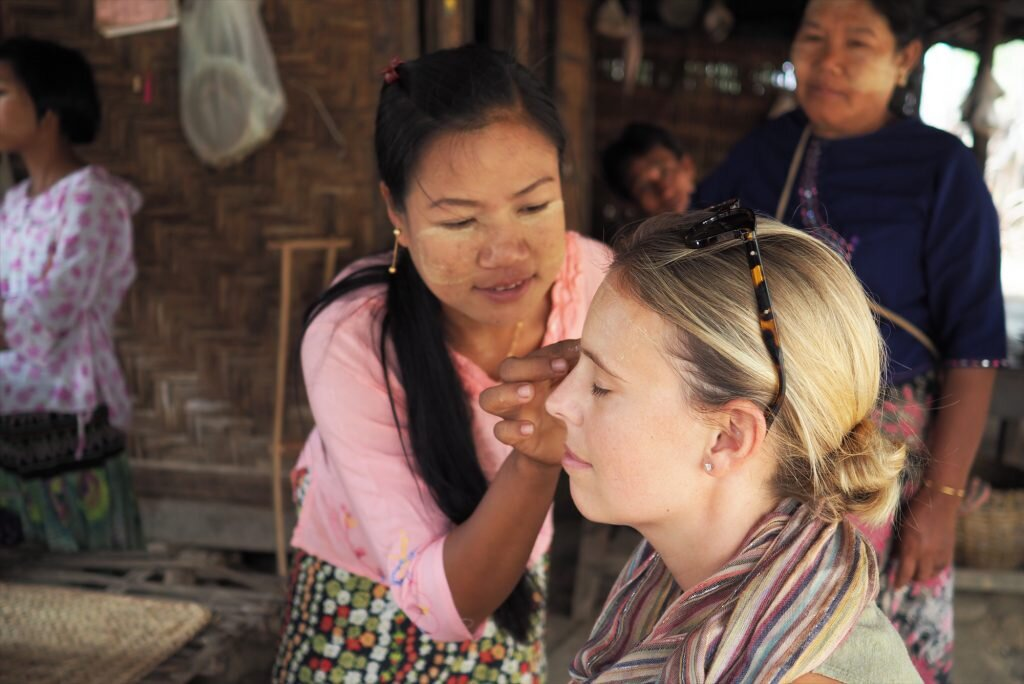 Visiting a community tourism project was the highlight of my trip to Myanmar with Intrepid © Sarah Reid