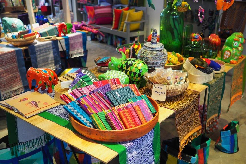 Schedule some souvenir shopping at social enterprise store Hla Day in Yangon © Sarah Reid